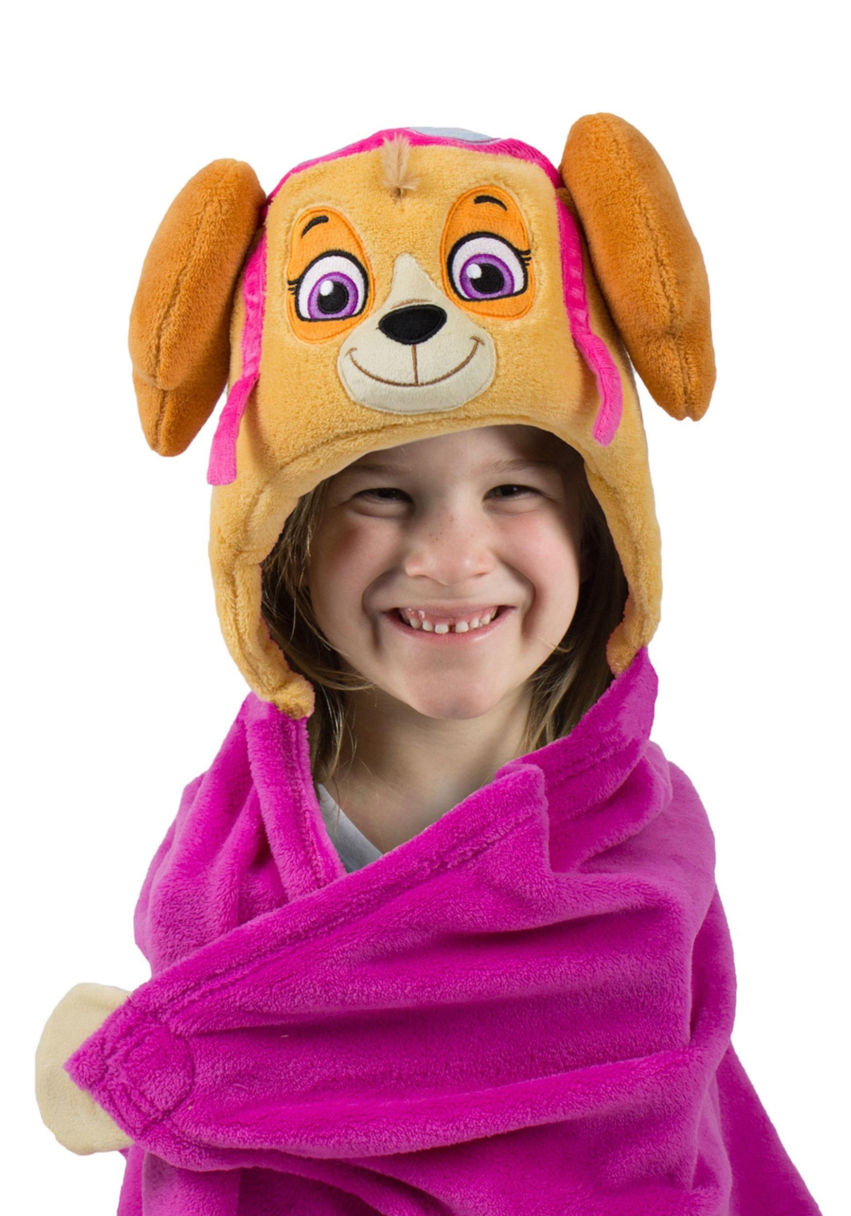 Paw Patrol Skye Comfy Critters Costume Blanket