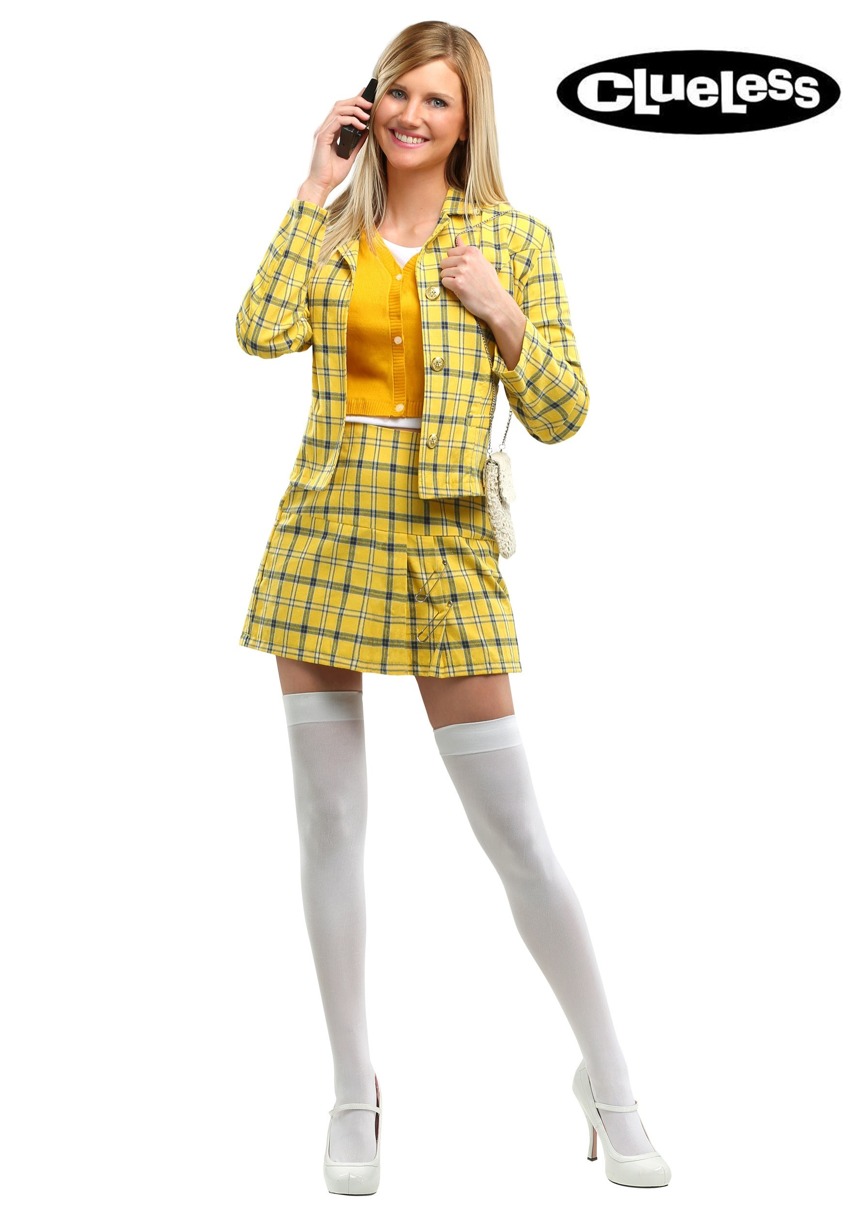 Womenu0027s Clueless Cher Plus Size Costume  sc 1 st  Fun.com & Clueless Cher Plus Size Costume for Women