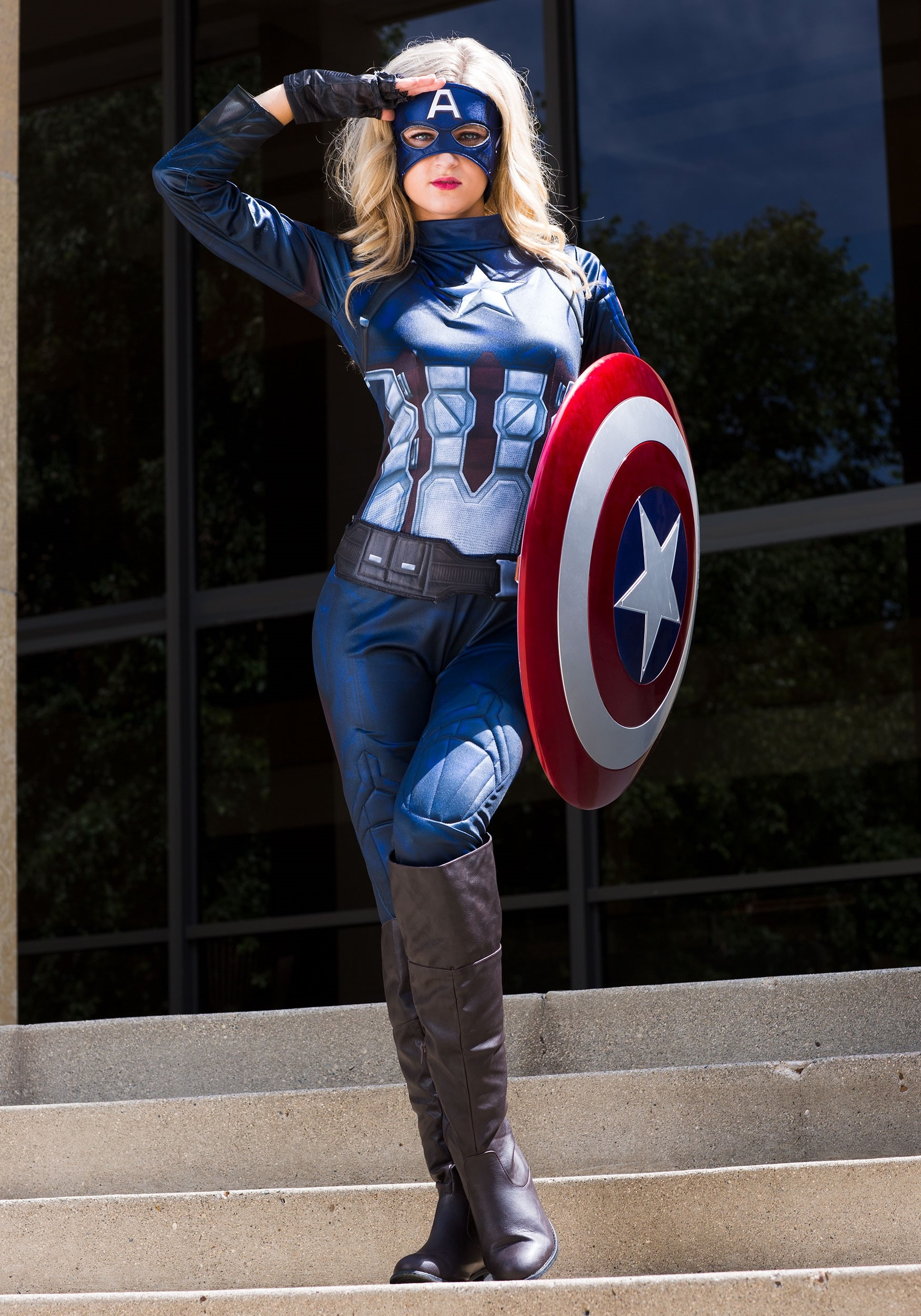 Captain America Costume For Women Nowadays, we received part of customer feedback. captain america womens costume