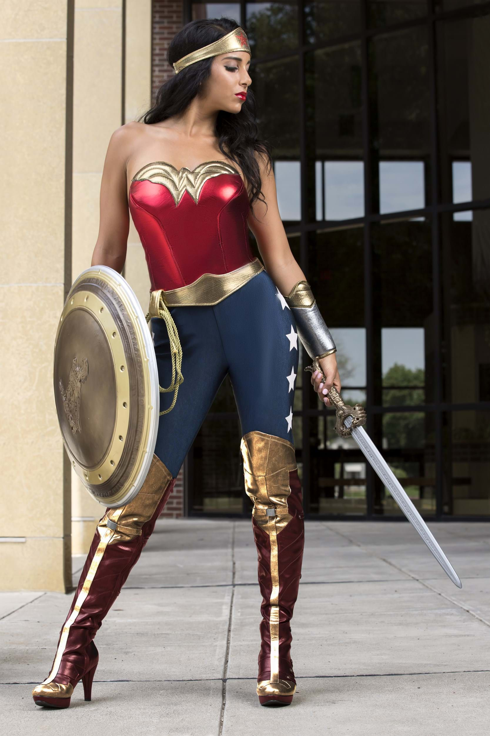 Dc Wonder Woman Odrasla noša-9930