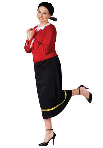 Olive Oyl Plus Size Women's Costume