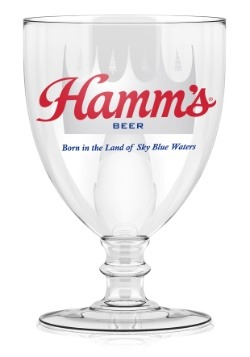 Hamm's 15 oz Stemmed Signature Glass