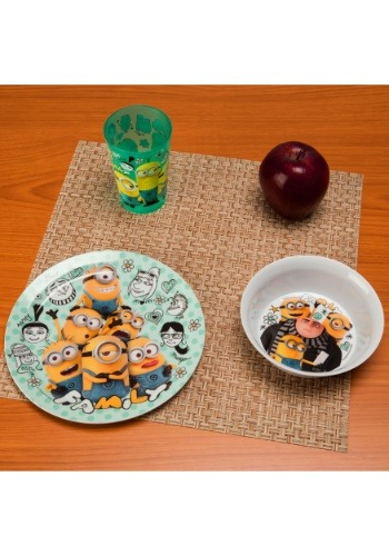 Despicable Me 3 Pc Dinnerware Set ZKDESD-0391-B-ST