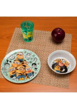 Despicable Me 3 Pc Dinnerware Set