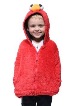 Sesame Street Elmo Faux Fur Kids Costume Hoodie