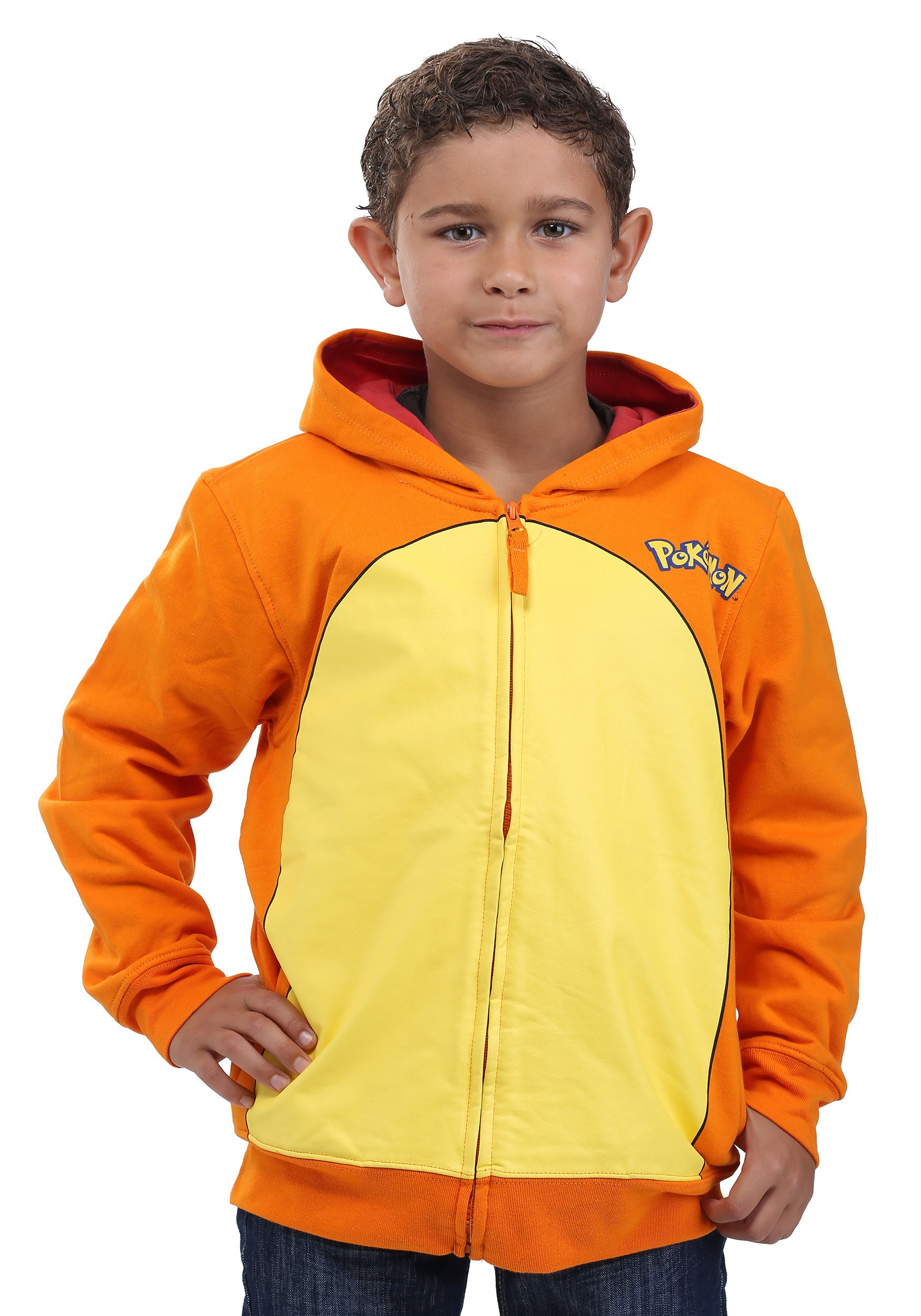 e23de63c1e92 Pokemon Charmander Costume Hoodie for Kids