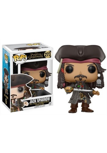 Disney Pirates of the Caribbean Jack Sparrow POP! Vinyl Figure FN12803