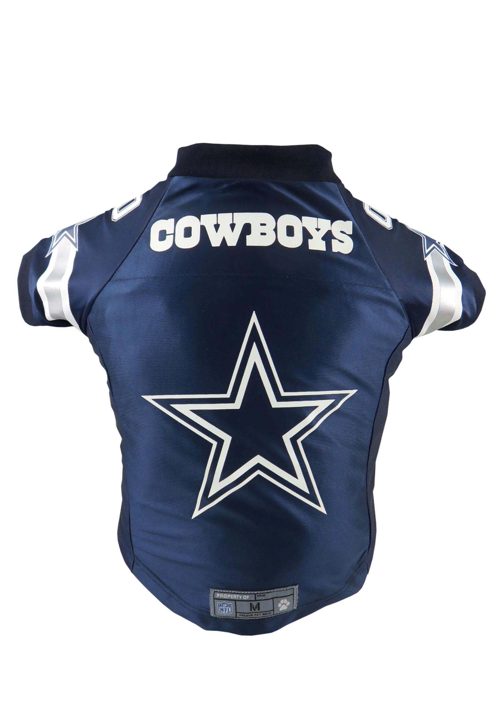 buy online 3e5c8 4d0fa NFL Dallas Cowboys Premium Pet Jersey