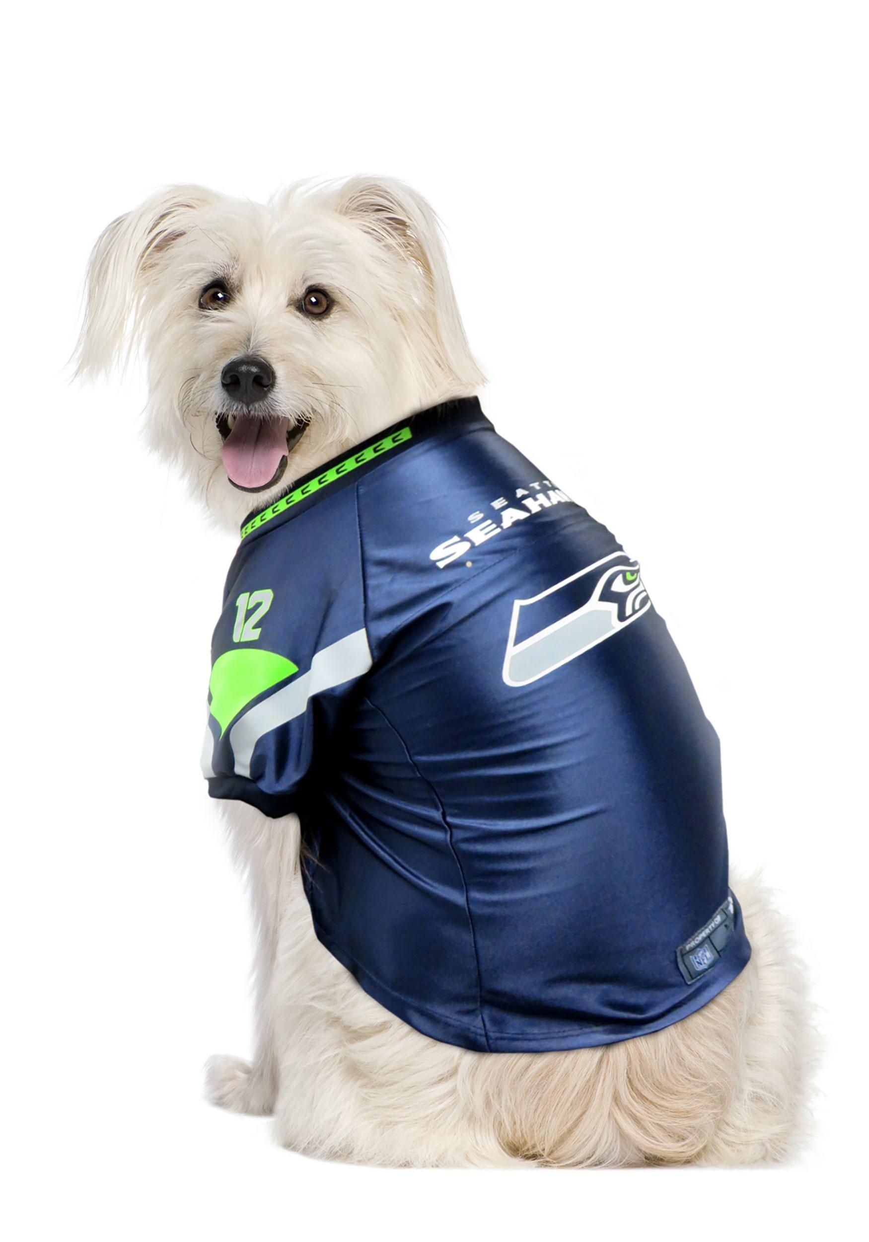 Seattle Seahawks NFL Premium Pet Jersey LTE320135-SEAH