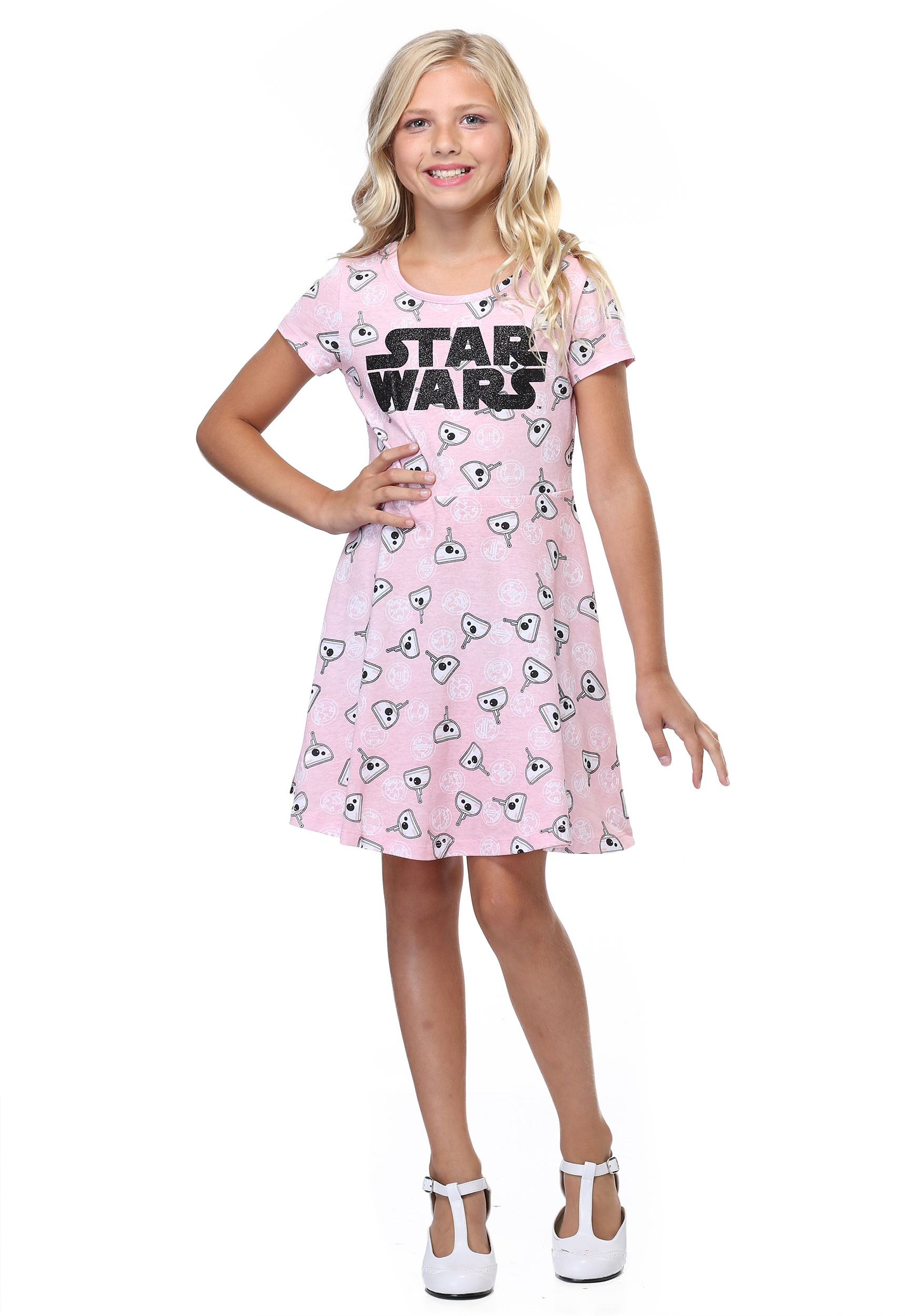Star Wars BB-8 Pink Dress for Girls