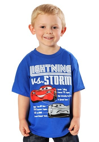 Cars 3 Lightning vs Storm Boys T-Shirt Update main