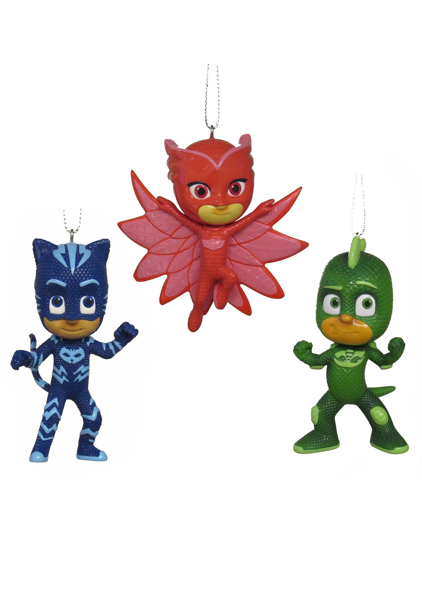 Pj Masks 3 Pack Ornament Set