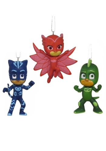 PJ Masks 3 Pack Ornament Set