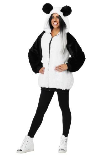 Plus Size Women's Panda Hoodie