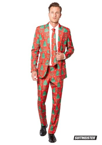 Men's Christmas Trees Suitmiester