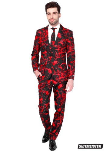 Men's Halloween Blood Suitmeister