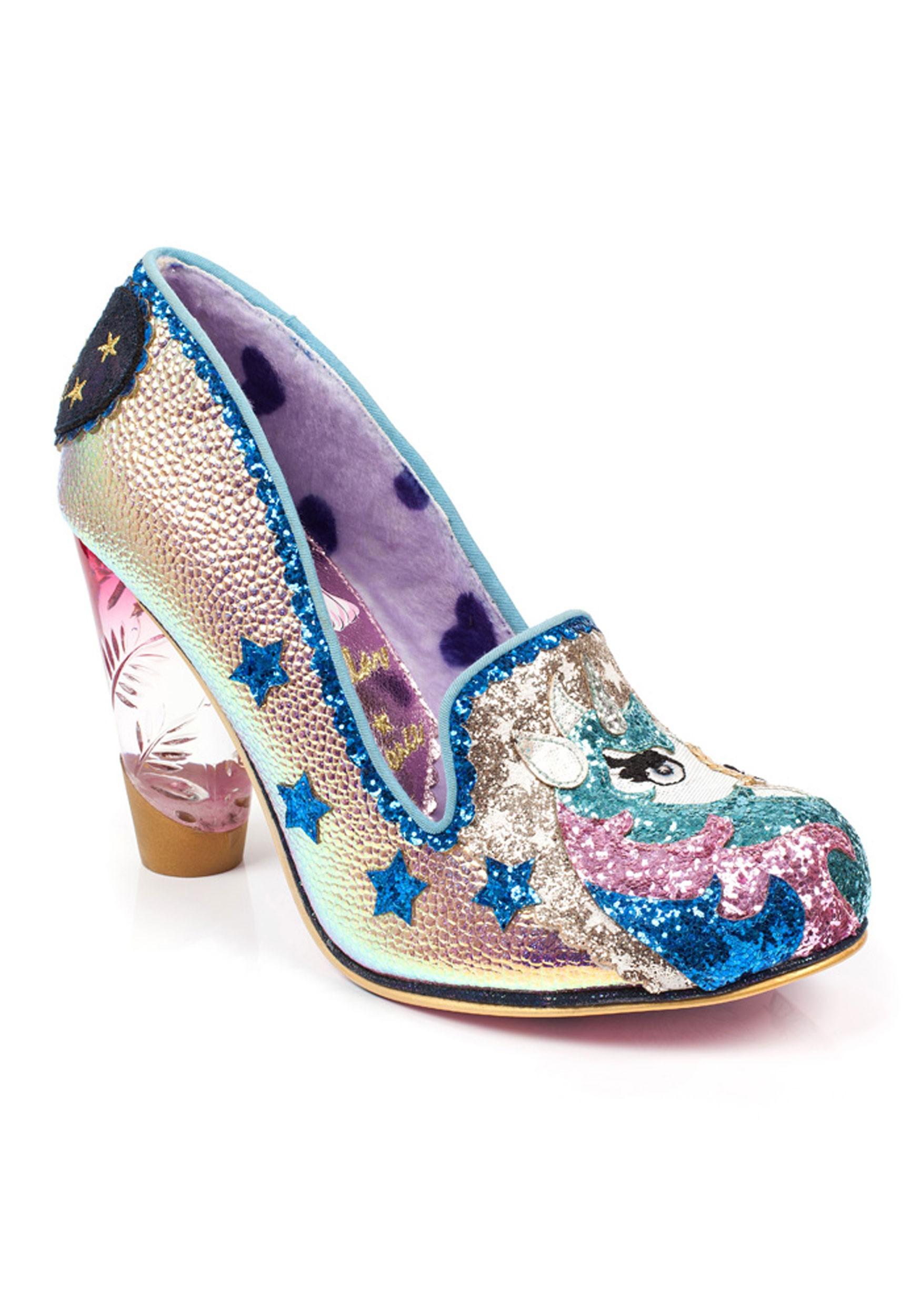 fe6ba0dc7a5 Irregular Choice Lady Misty Unicorn High Heels