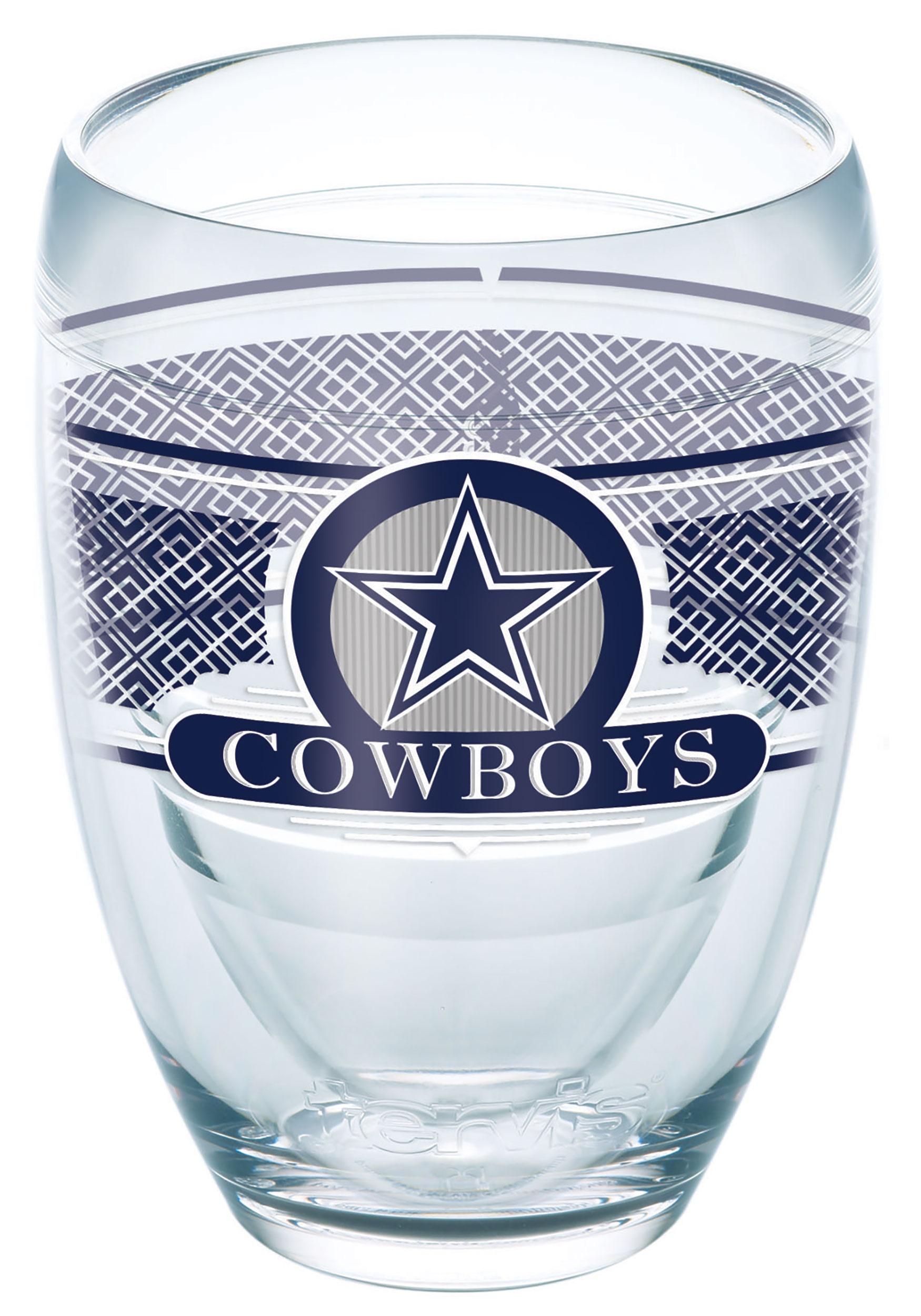 Tervis NFL Dallas Cowboys 9 oz Stemless Wine Glass 45fbc1e96ba