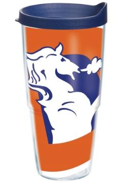 Denver Broncos 24 oz Legacy Tumbler w/ Blue Lid