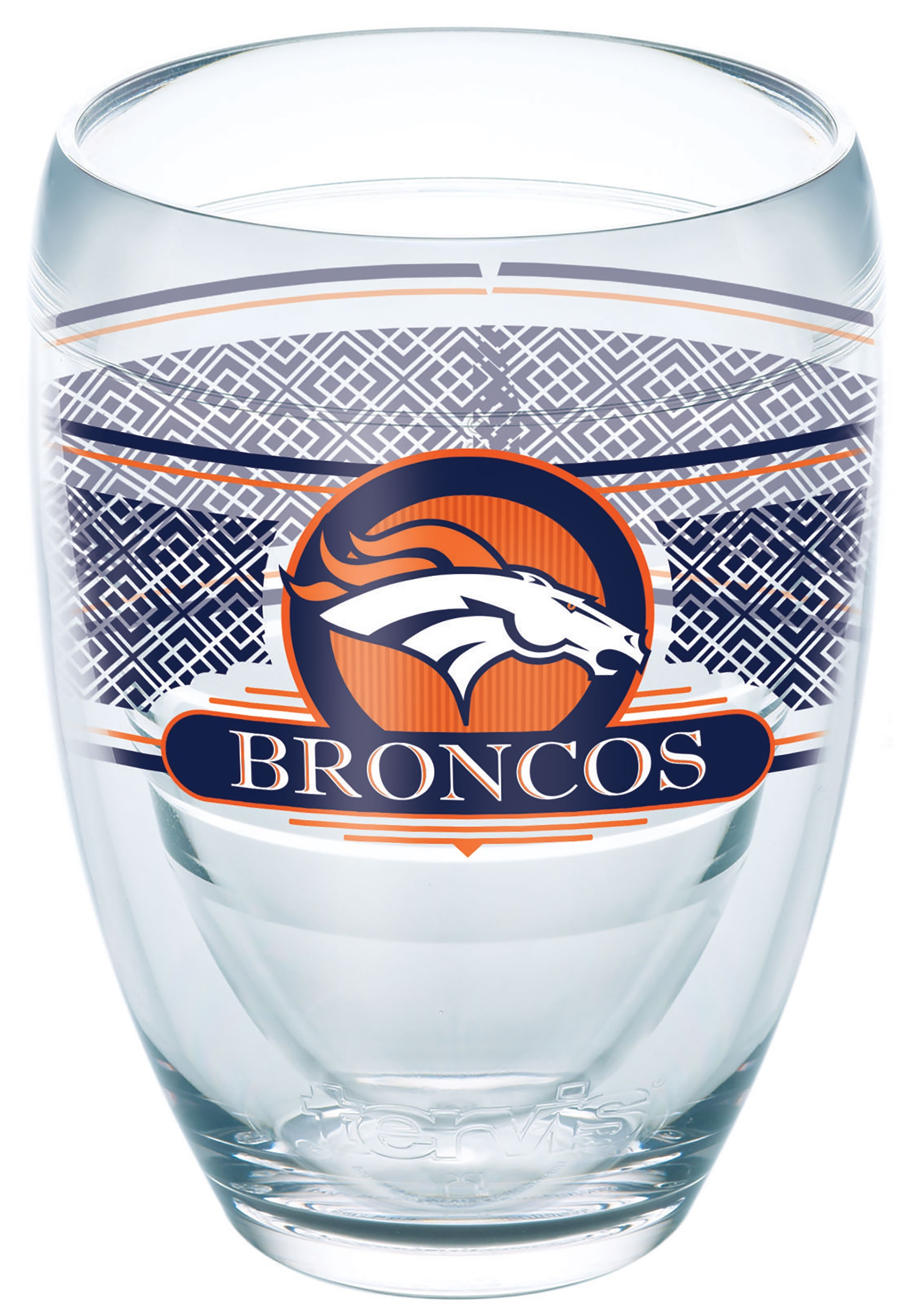 Tervis NFL Denver Broncos 9 oz Stemless Wine Glass