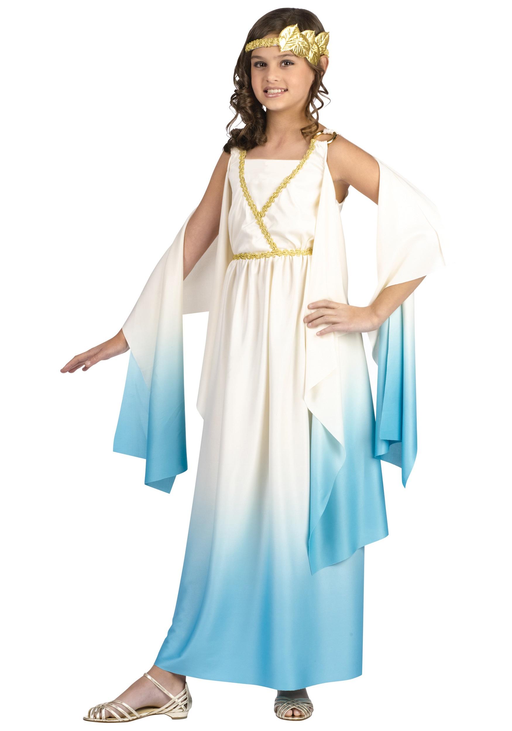 greek goddess costume for girls