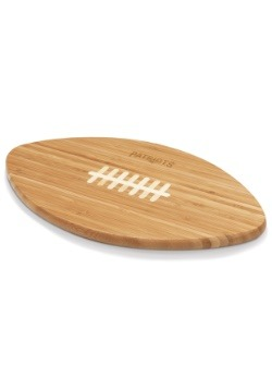 New England Patriots 'Touchdown!' Football Cutting Board1