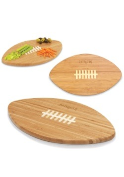 New England Patriots 'Touchdown!' Football Cutting Board2
