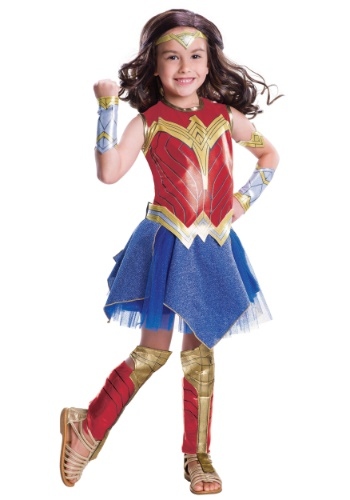Girls Justice League Deluxe Wonder Woman Costume