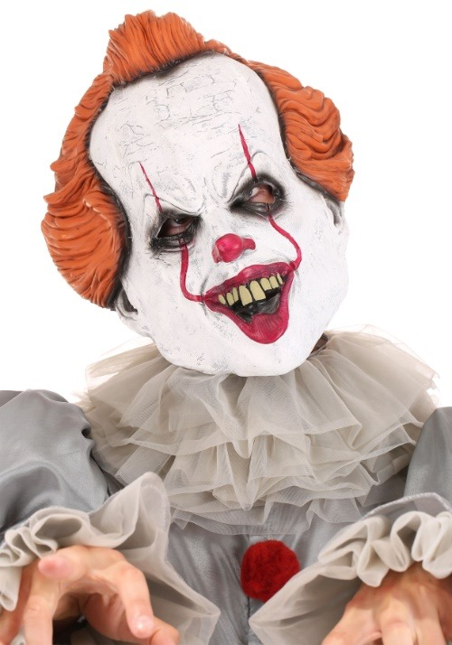 Adult Deluxe IT Movie Pennywise Costume4