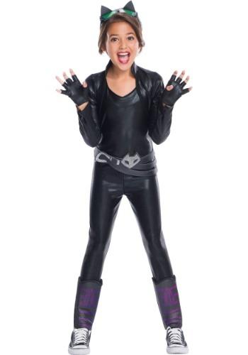 Girls DC Superhero Catwoman Costume
