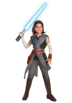Child Super Deluxe Rey Costume