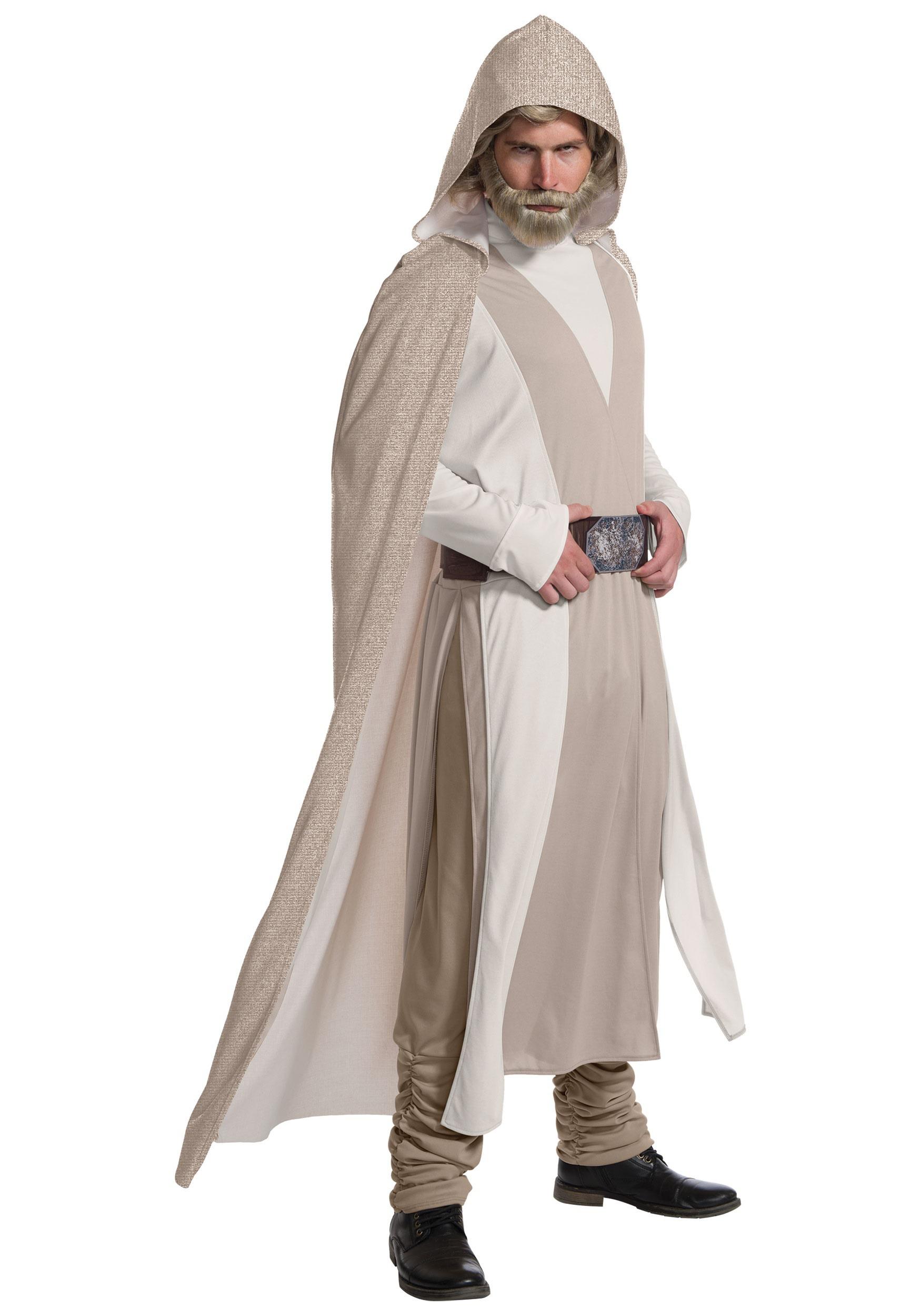 Star Wars The Last Jedi Deluxe Luke Skywalker Costume for Men
