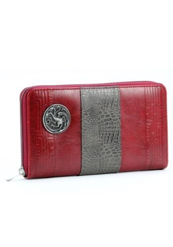Game of Thrones House Targaryen Wallet Clutch