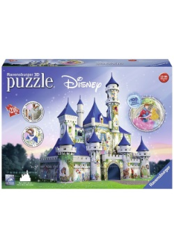 Disney Castle 216 pc 3D Puzzle