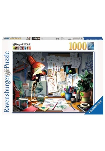 The Artist's Desk Pixar 1000 pc Puzzle