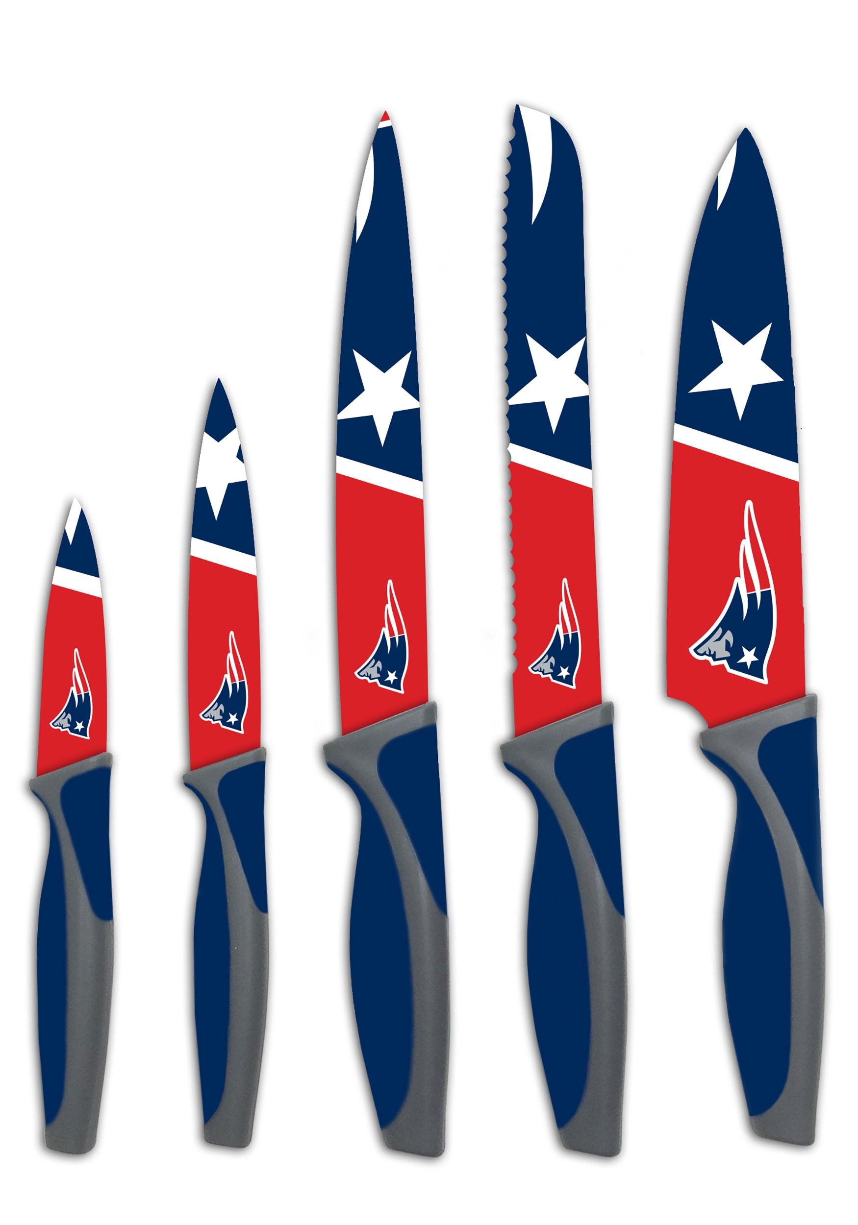 patriots knives england kitchen nfl