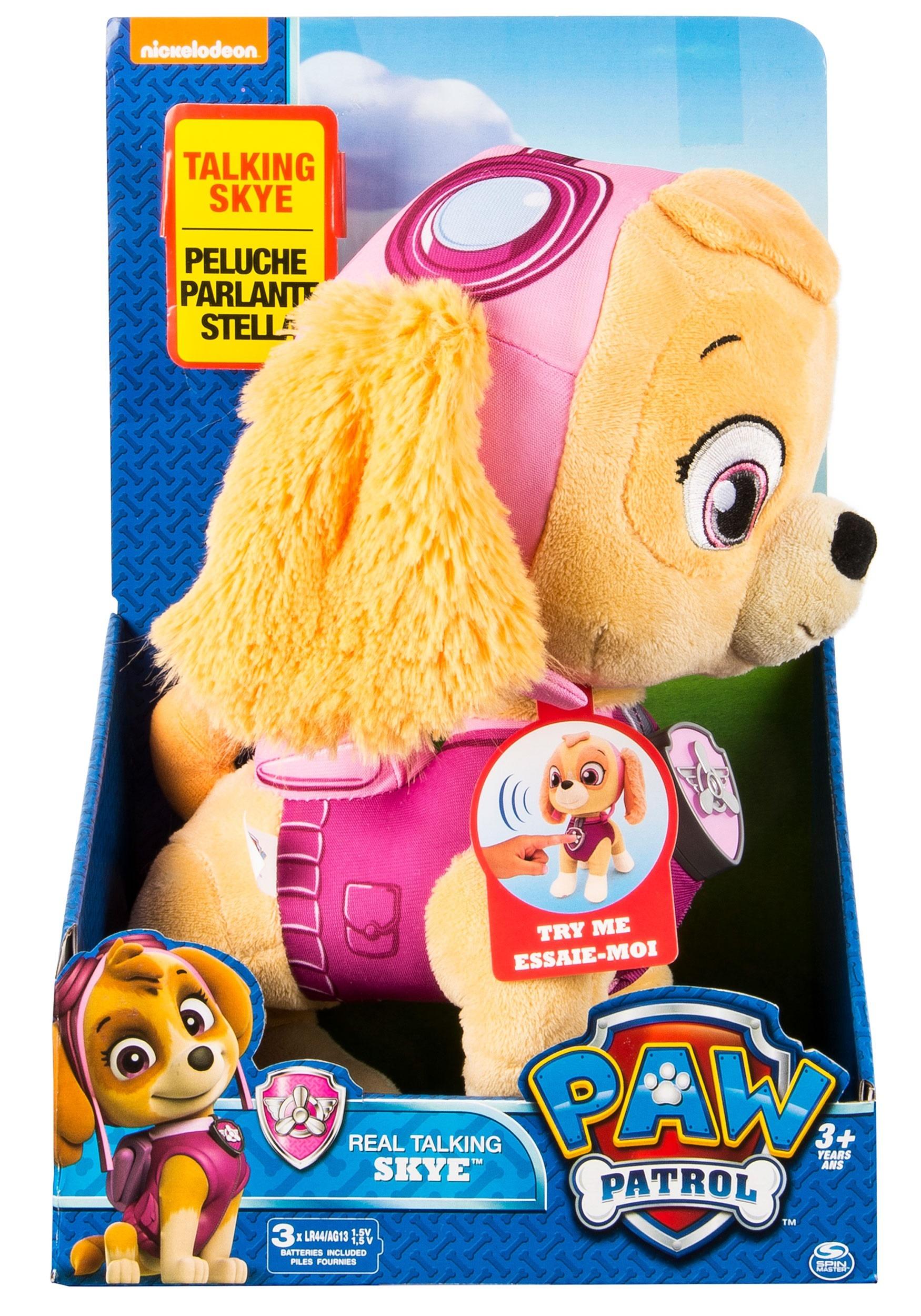 Paw Patrol Skye Talking Stuffed Toy 9c9ca7c1a7