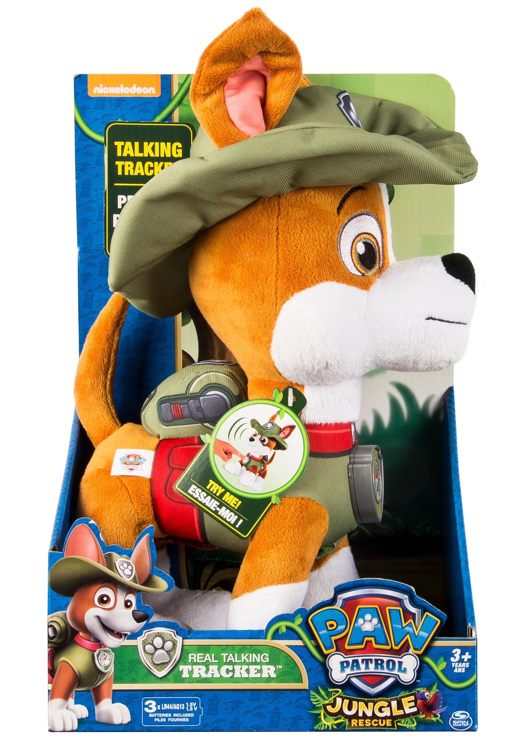 Paw Patrol Tracker Talking Stuffed Toy
