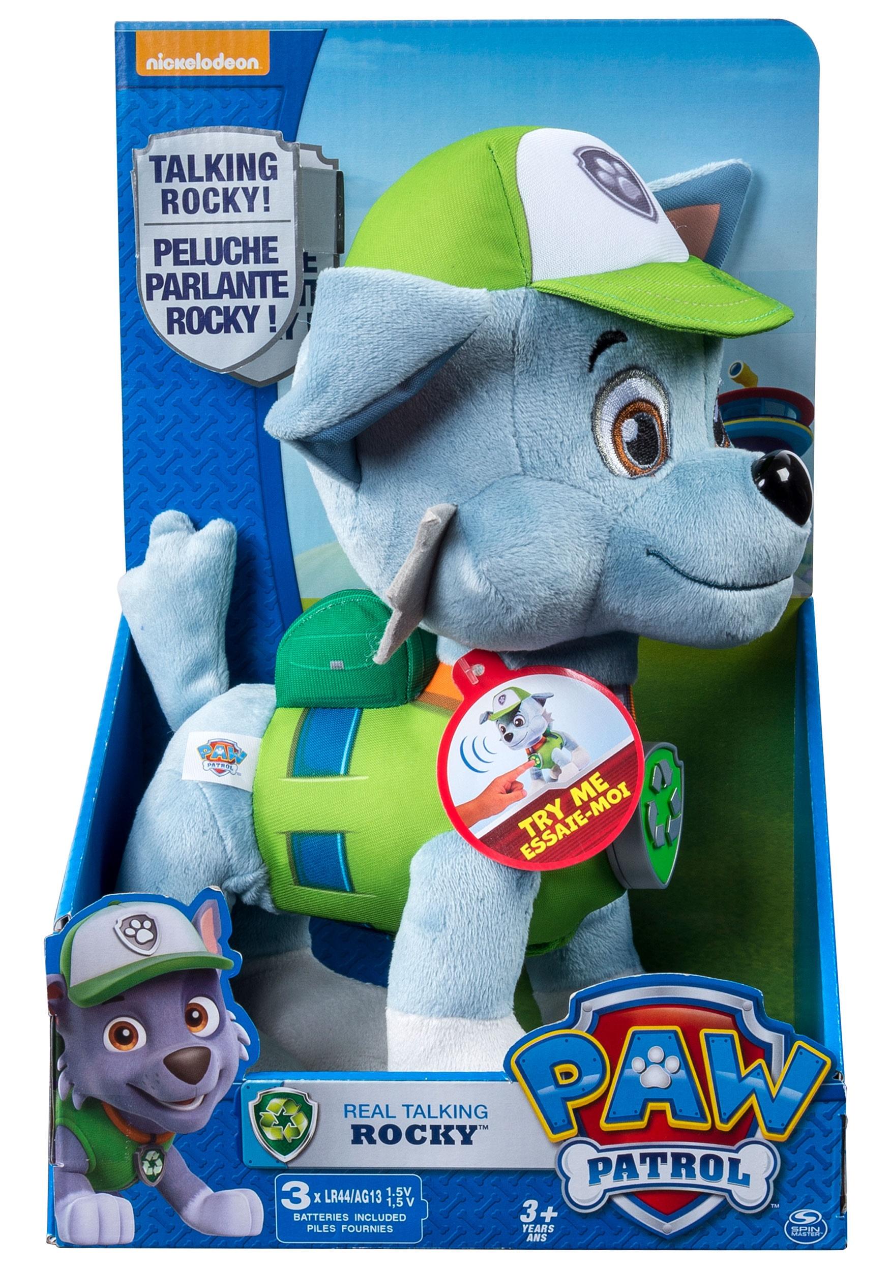 Paw Patrol Rocky Talking Stuffed Toy