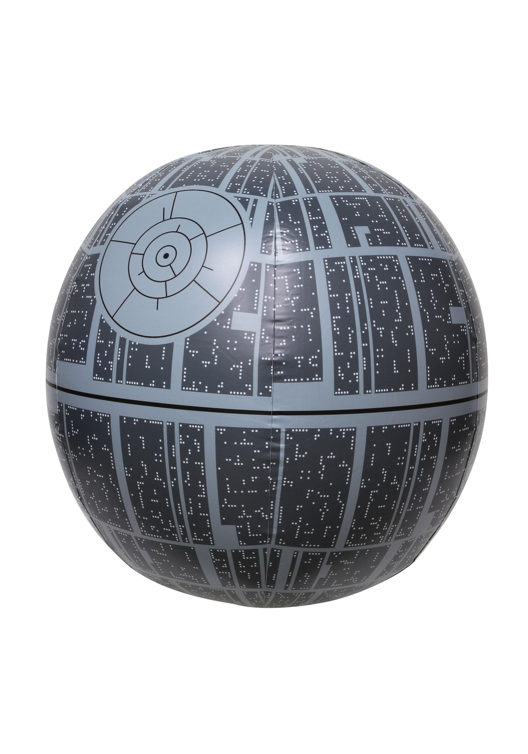 Death Star Light-Up Inflatable Star Wars Beach Ball SWM29002