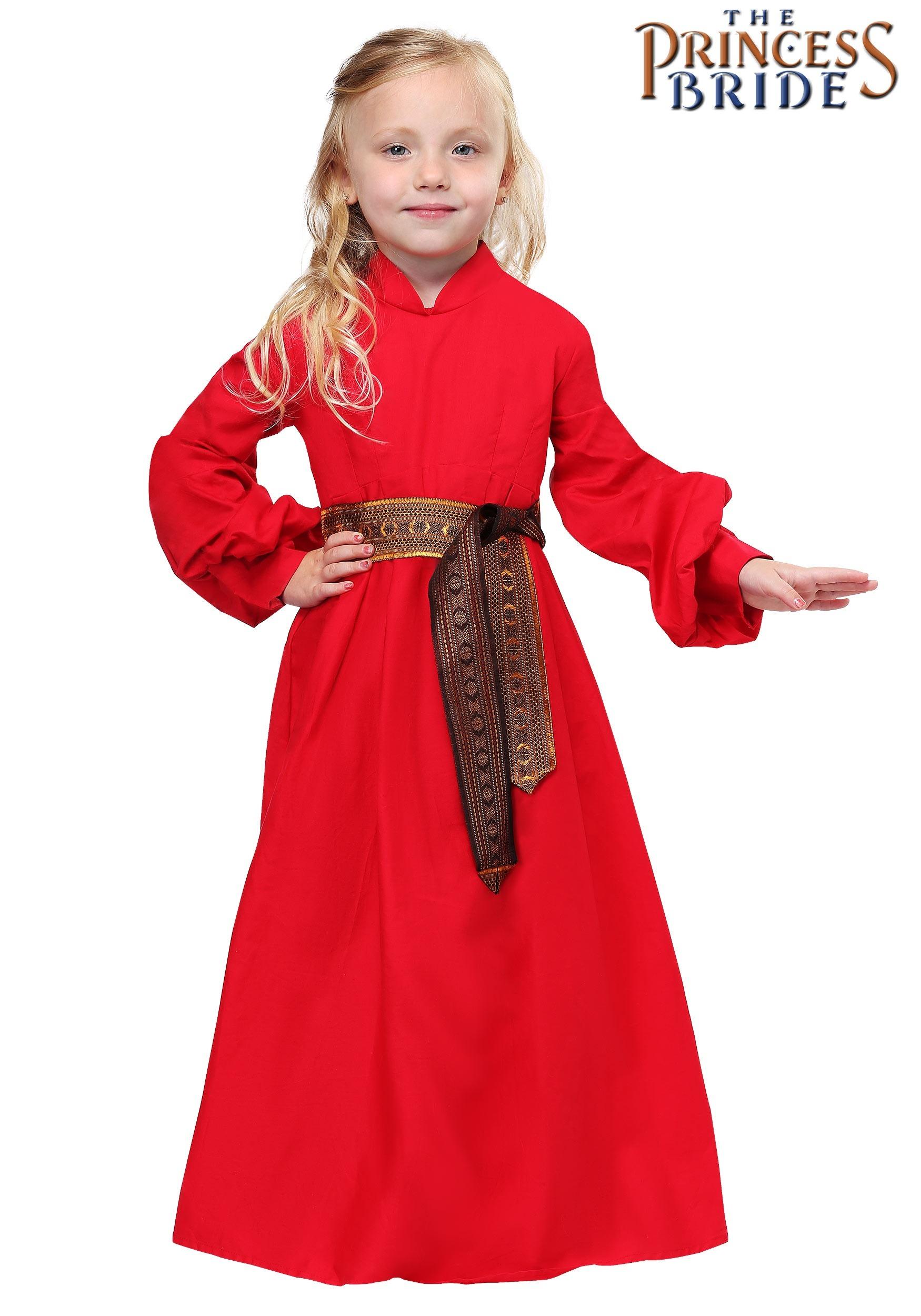 0daaa3c35 Princess Bride Buttercup Peasant Girls Dress