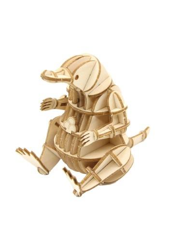 Fantastic Beasts Niffler 3D Wood Model & Booklet