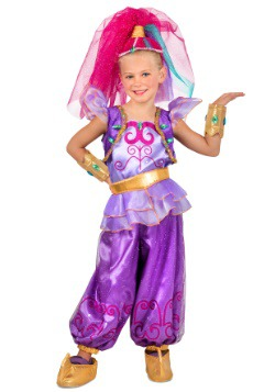 Girls Shimmer Costume