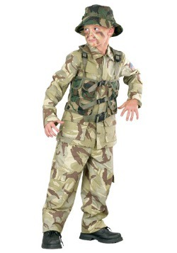 Child Delta Force Military Costume