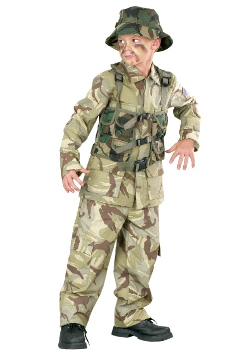Child Delta Force Military Costume