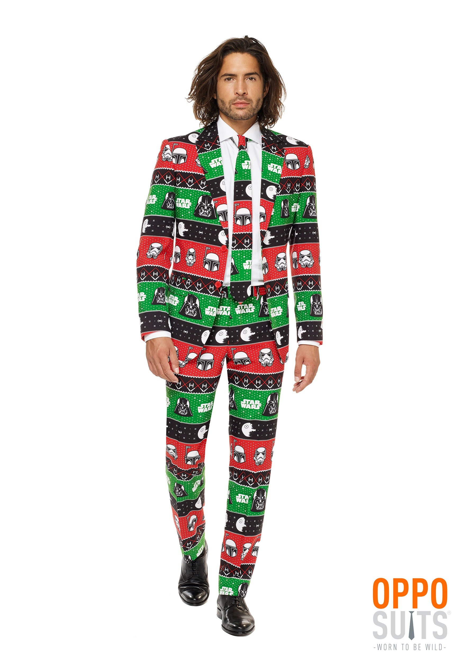 mens star wars christmas opposuit - Star Wars Christmas Pajamas