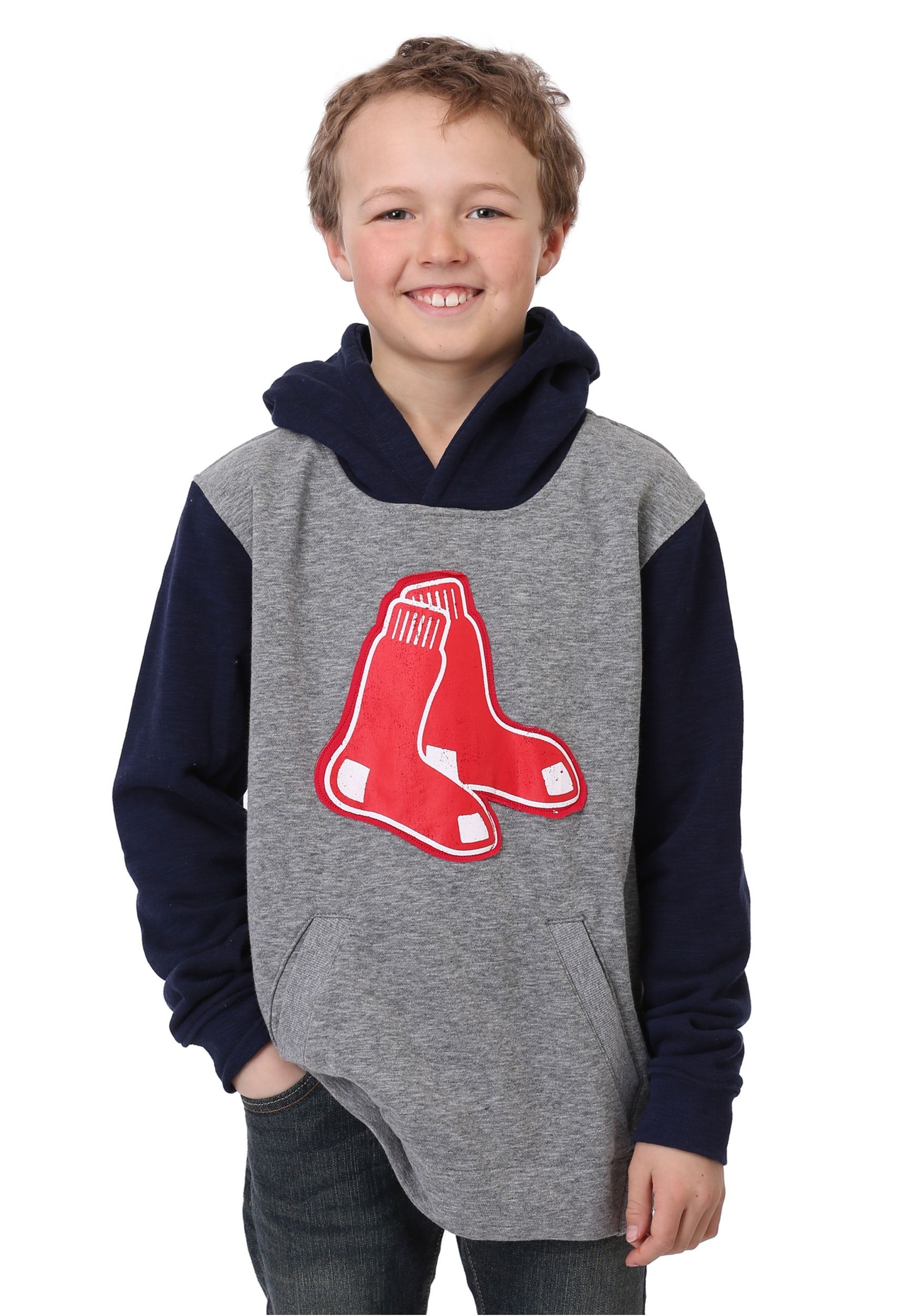 size 40 152c6 4f6b4 Red Sox New Beginnings Pullover Hooded Youth Sweatshirt