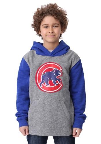 Cubs New Beginnings Pullover Hooded Sweatshirt for Kids