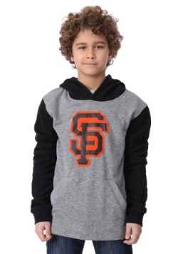 Youth Giants New Beginnings Pullover Hooded Sweatshirt