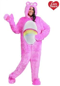 Adult Plus Size Classic Cheer Care Bears Costume 1
